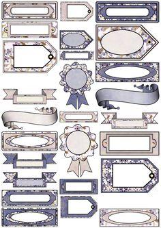 ArtbyJean - Paper Crafts: ----SET A02 - Purple Wood Roses
