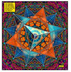 The Occult Gallery: Photo Sacred Geometry Art, Sacred Art, Platonic Solid, Sacred Symbols, Mystique, Visionary Art, Tantra, Flower Of Life, Psychedelic Art