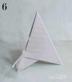 Kartka piramidka