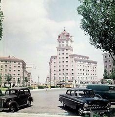 Praça do Areeiro em finais da década de 1950