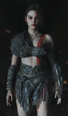 Resident Evil Girl, Resident Evil 3 Remake, Fantasy Characters, Female Characters, Deep Space Nine, Kratos God Of War, Evil Art, Video Games Girls, Norse Mythology