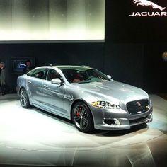2014 Jaguar XJR – via Instagram @jaguarusa #NYIAS