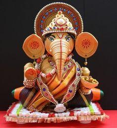 3d Quilling Ganesha
