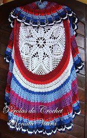 Maxi Colete em Crochet   Peça super elegante com presença garantida nas passarelas da moda.   Esse vai para Aracajú SE     Com...