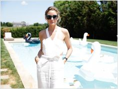 The Olivia Palermo Lookbook : Olivia Palermo Hosts Revolve Clothing Summer Lunch in New York City