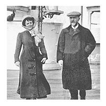 One of the wealthiest and most colorful characters on the Titanic's maiden voyage, was Charlotte Cardeza of Philadelphia. Traveling with her only son, they boarded the ship on her 58th birthday and occupied the most expensive stateroom available.