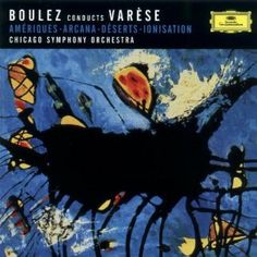 Pierre Boulez, and the Chicago Symphony Orchestra won a Grammy for this recording -- and no wonder. It's clear Boulez really understands Edgar Varèse's music.