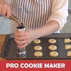 Cooking Gadgets, Kitchen Gadgets, Biscuits, Milk Box, Food Technology, Cookie Press, Biscuit Cookies, Cookie Decorating, Cool Kitchens