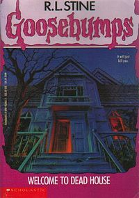 i was never allowed to read the goosebumps stories..i'm glad because i'd always get scared listening to the stories