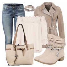 Herbst-Outfits: Beige bei FrauenOutfits.de
