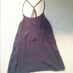 Tank top - backless. Target. Worn once! Target. Very soft. Tops Tank Tops
