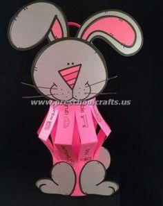 easter bunny crafts for kids preschool and kindergarten