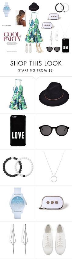 """Sneakers or heels, which one sets the party feel for you.?"" by kittyangeldog ❤ liked on Polyvore featuring Givenchy, Thierry Lasry, Lokai, Roberto Coin, Lacoste, PINTRILL, Diane Kordas and Giuseppe Zanotti"