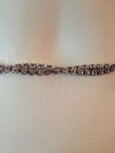 SOLD Rhinestone Belt Rhinestone Belt, Vintage Accessories, Diamond, Bracelets, Etsy, Jewelry, Style, Fashion, Bangles