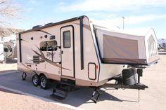 Sweet! New 2016 Forest River Rockwood Roo Hybrid Travel Trailer For Sale In Las Vegas, NV - LVN1259434 - Camping World