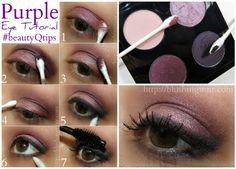 Purple Eye Tutorial feat. Q-tips Precision Tips