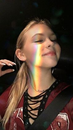 Jordyn Jones  light rainbows #jordynjones #actress #model #dancer #singer #designer https://www.jordynonline.com