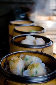 Introduction to Dim Sum - one can find Dim Sum in Asian countries like Singapore, Malaysia and of course Hong Kong. What are they? Little delicious nuggets of food often wrapped up in some leaves, thin  covering (often rice or flour- based). Some are topped with seafood, meats and vegetables. One just goes to pick out what you want & you are good to partake in a wonderful meal. Not one dim sum meal is the same as the variety is extremely wide & you will be spoilt for choice!