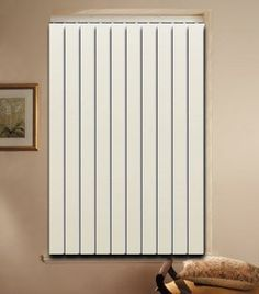 """84/"""" x 3 1//2/"""" 5 IVORY PVC Vertical Blind Replacement Slat Smooth"""