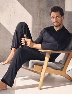 DAVID GANDY FOR AUTOGRAPH New Modal Silk Slim Fit Pyjama Bottoms £29.50
