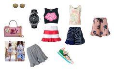 """Ruffled Shorts..**"" by yagna ❤ liked on Polyvore featuring STELLA McCARTNEY, L'Autre Chose, Kolor, Goen.J, Krizia, Jean-Louis Scherrer, Etro, Montegrappa, Spektre and Dolce&Gabbana"