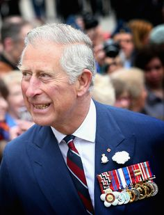 Prince Charles, Prince of Wales meets members of the public as he attends an official 'Welcome to Canada'Cceremony at Grand Parade on May 19, 2014 in Halifax, Canada.