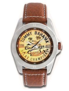 Tommy Bahama RELAX Men's RLX1115 Castaway Classic Diver Case with Customer Limited Edition