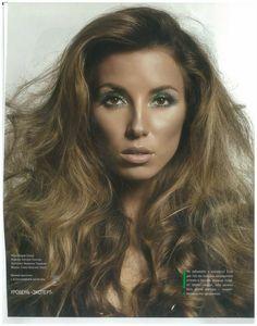 My make up for Make Up Magazine.