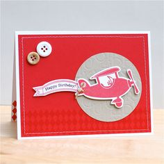 airplane cards handmade - Google Search