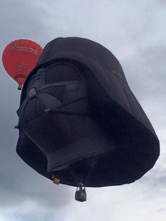 The Force is strong with these Hot Air Balloons! Star Wars Darth Vader Yoda