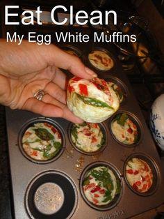 Vegetable Egg White Muffins!