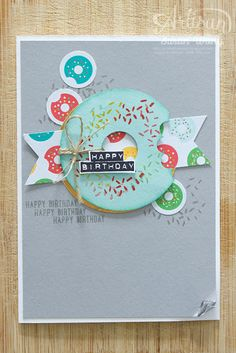 Cherry on Top DSP Donut Card ~ Susan Wong