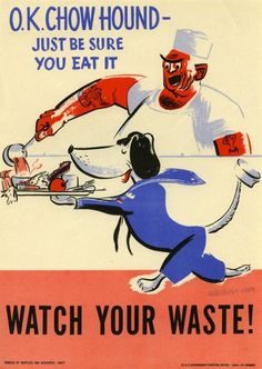 Save Food Poster from WWII