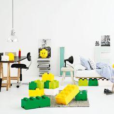 eu.Fab.com | LEGO Storage Brick 8 Green en voor papa ook natuurlijk