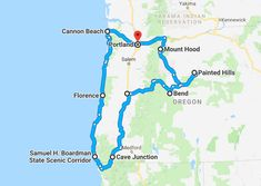 This Oregon road trip itinerary shows you the best of what Oregon has to offer! From waterfalls to the coast, you are in for a real treat! Road Trip Map, Oregon Road Trip, Road Trip Hacks, Road Trips, Oregon Vacation, Oregon Travel, Travel Portland, Italy Vacation, Travel Maps