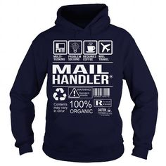 Awesome Tee For Mail Handler T-Shirts, Hoodies (36.99$ ==► Shopping Now to order this Shirt!)
