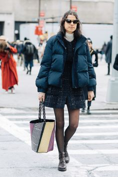 Street style à la Fashion Week automne-hiver 2017-2018 de New York Man Repeller Leandra Medine