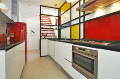 Mondrian kitchen