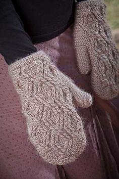 crochet mittens pattern.