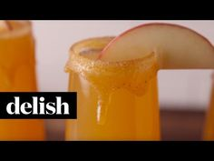 Caramel apple mimosas are about to be your new fall drink obsession