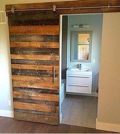 $749, The Dickens D8 Reclaimed Pine Barn Door, ...