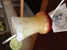 Maui fruit punch, fresh mixed juice for sunny day. Enjoy at exelco, surabaya-east java, indonesia