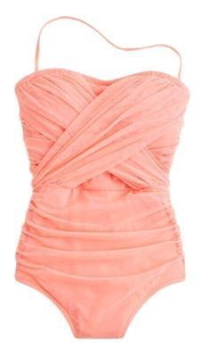 Peachy Keen Layered Look One Piece