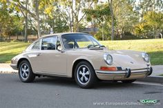1969 Porsche 911T Coupé. Yes please!