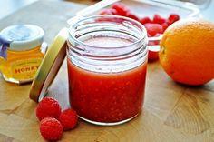 Raspberry Citrus Vinaigrette  @Matt Valk Chuah Freckled Foodie