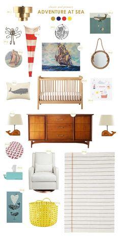 Nautical baby room ideas | laybabylay