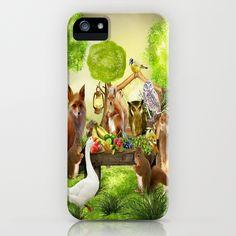 Sommerfest der Tiere iPhone Case