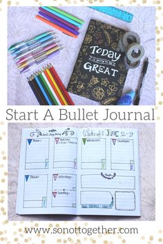 How to Start A Bullet Journal  - Bullet journaling from a newbie. Why bullet journaling is my new obsession!