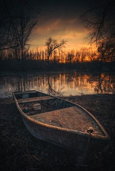 abandoned - branch of Danube river