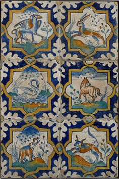 Renaissance Dutch tiles